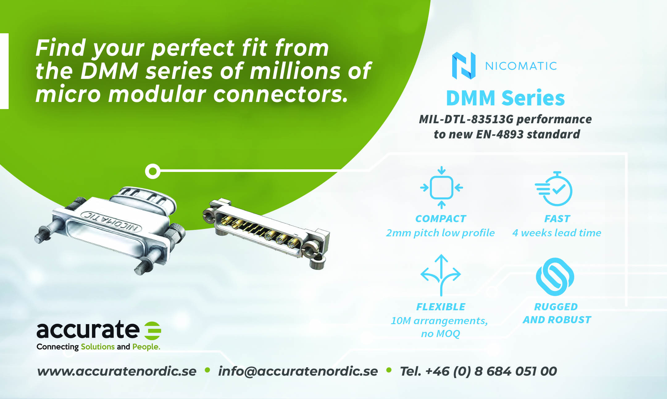 Nicomatic DMM By Accurate Nordic