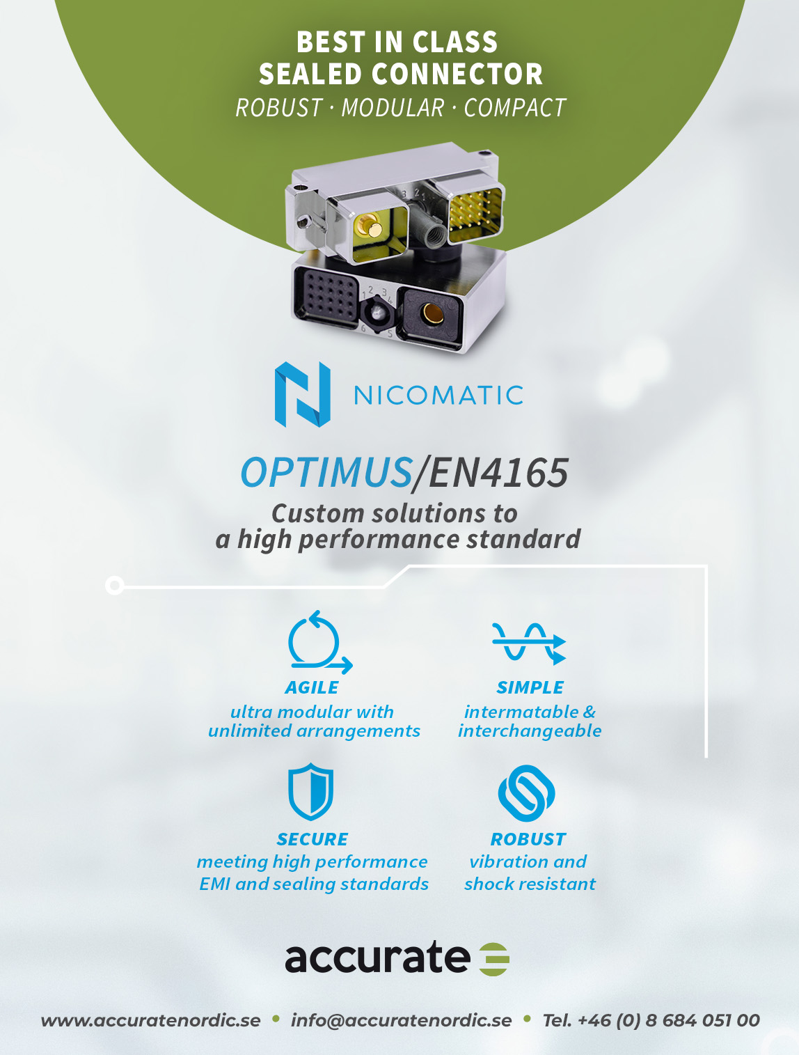 Nicomatic Optimus By Accurate Nordic