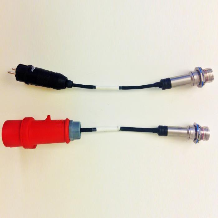 Adapterkablage CEE D38999 III
