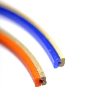 EMC packningar röd och blå