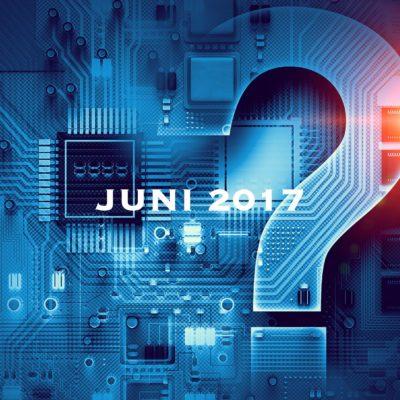 Frågetecken moderkort - Juni 2017