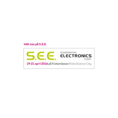 S.E.E - Scandinavian Electronics Event - 19-26-april 2016